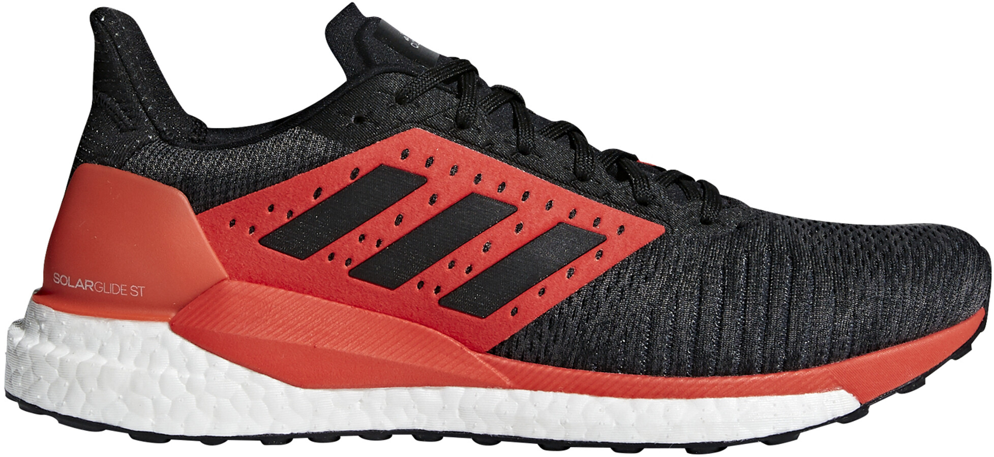 online store 81d03 b7420 adidas SolarGlide Running Shoes Men redblack